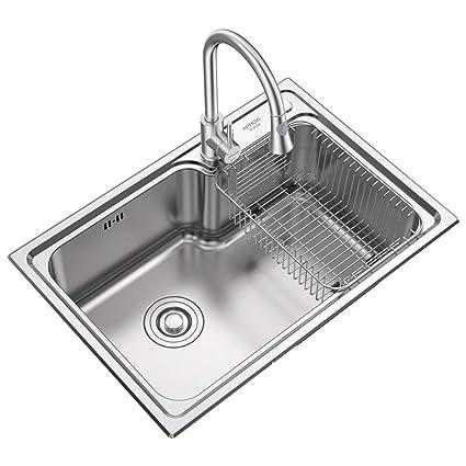 Fregaderos Acero Inoxidable para el hogar Cocina Accesorios ...