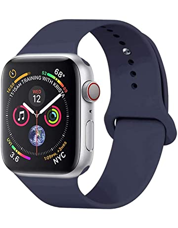 HILIMNY Correa Apple Watch 38MM 42MM, Suave Silicona iWatch Correa, Para Series 3,