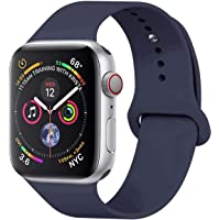 GIPENG Correa Apple Watch 38MM 42MM, Suave Silicona iWatch Correa, para Series 3, Series 2, Series 1, Nike+, Edition, Hermes