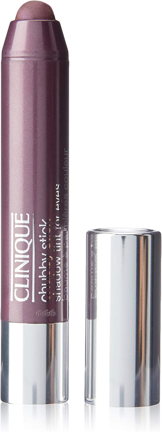 Clinique Chubby Stick Shadow Tint for Eyes, No. 04, Ample Amber, 0.1 Ounce