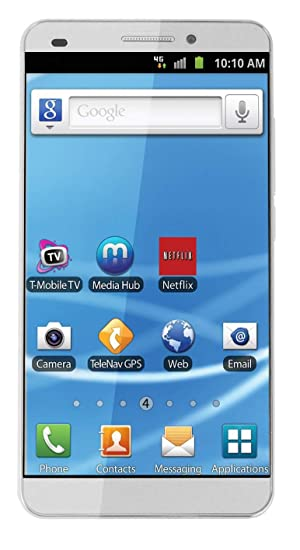 Energy Sistem HD Dual-SIM 16GB 3G Android Phone in White Colour