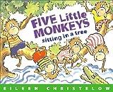 Five Little Monkeys Sitting in a Tree, Eileen Christelow, 0395544343