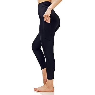 Sbra Women's High Waist Yoga Pants Leggings With Side Pocket For Phone Workout Leggings