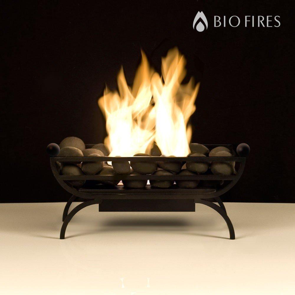 bio fires athena bio ethanol grate in contemporary style amazon