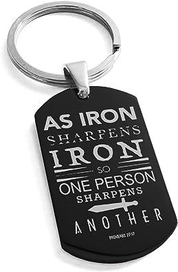 Amazon.com: Tioneer Llavero de acero inoxidable como ...
