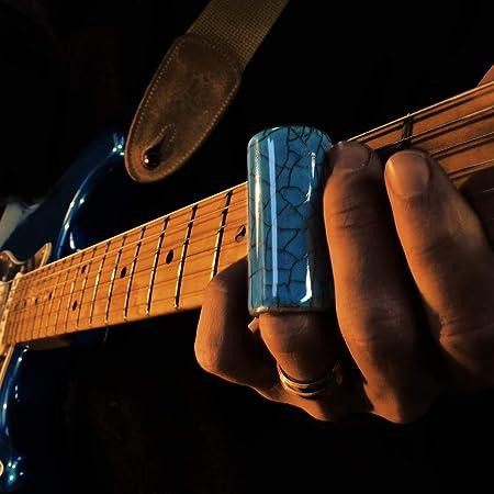 Blue Lagoon Guitarra de cerámica Slide Pequeña: Amazon.es ...