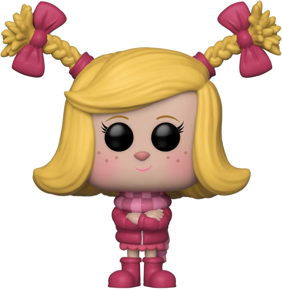Funko Pop Animation: The Grinch Movie - Cindy Lou Who Collectible Figure, Multicolor