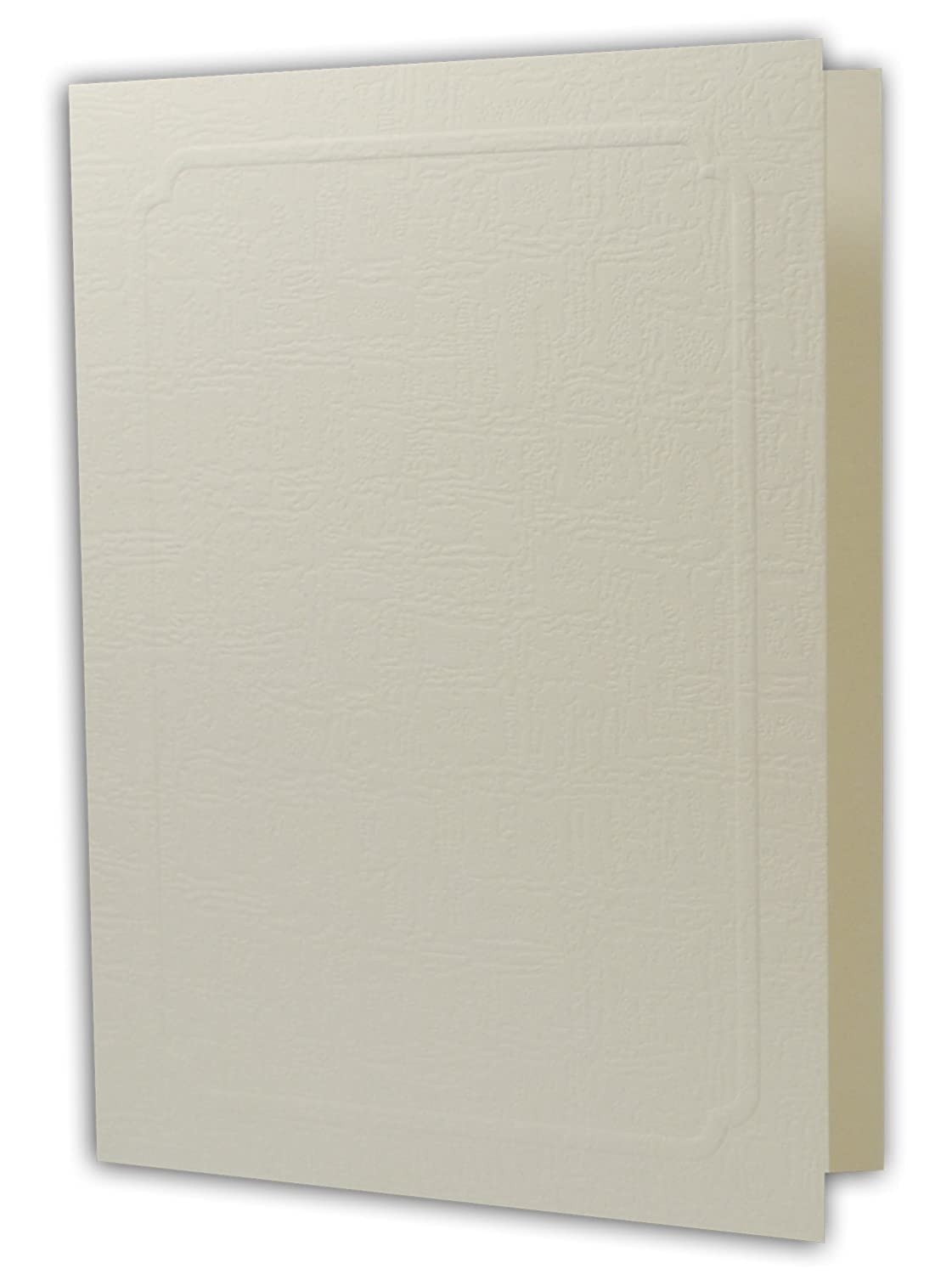 Cut Corners GS010-S Ivory Color Cardboard Photo Folder for 5x7//4x6 Golden State Art Pack of 50