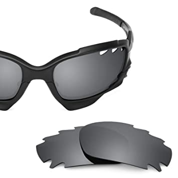 bea7295782dd1 Revant Replacement Lenses for Oakley Jawbone Vented (Asian Fit) Black  Chrome MirrorShield