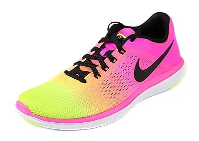 nike womens flex 2016 rn running shoe multi color 6 bm