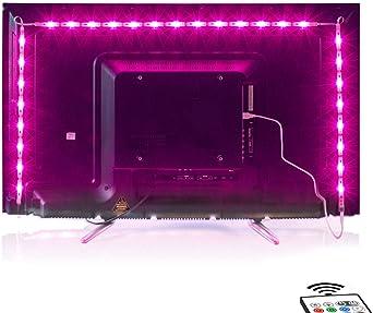 LED TV Hintergrundbeleuchtung USB LED Beleuchtung RGB Strip für Fernseher PC