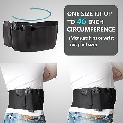 Black-Concealed Carry Tactical Belt