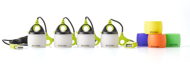 Goal Zero light-a-life Mini Quad USB-Light USB-Light Quad Set 0ec9e2