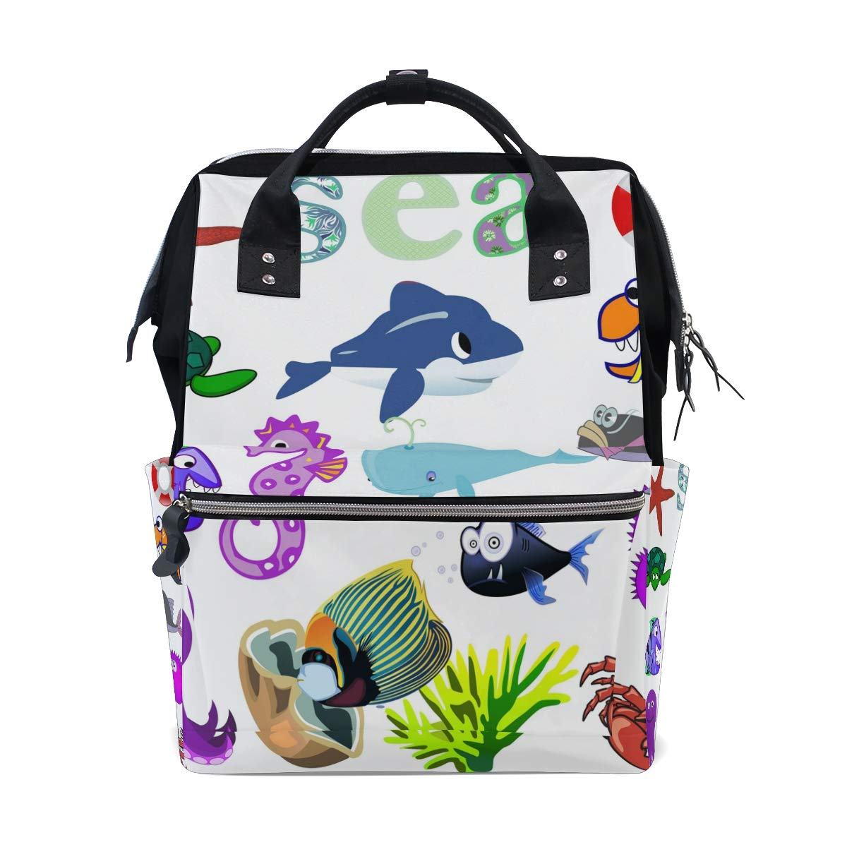 MALPLENA Colorful Boat Painting Luggage Protector Suitcase Cover