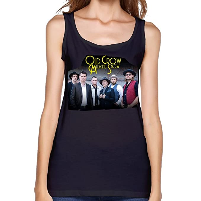 ef047bc3ad8 Image Unavailable. Image not available for. Color  Old Crow Medicine Show  Women Custom Youth Sleeveless T Shirt ...