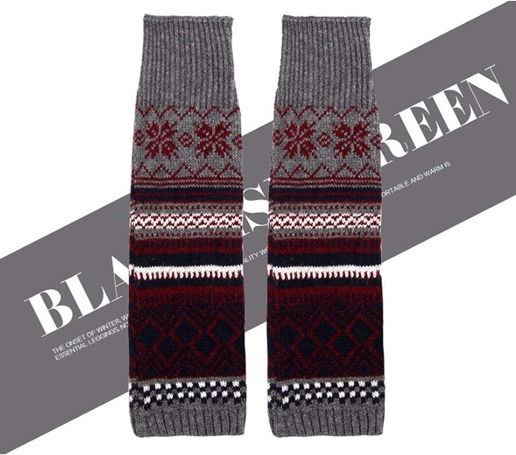 Xixou Women Bohemian Thickening Fashion Wool Multicolor Jacquard Warm Pile Socks Casual Socks