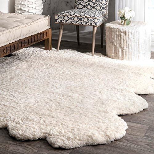 nuLOOM Natural Tufted Sheepskin Shaped product image