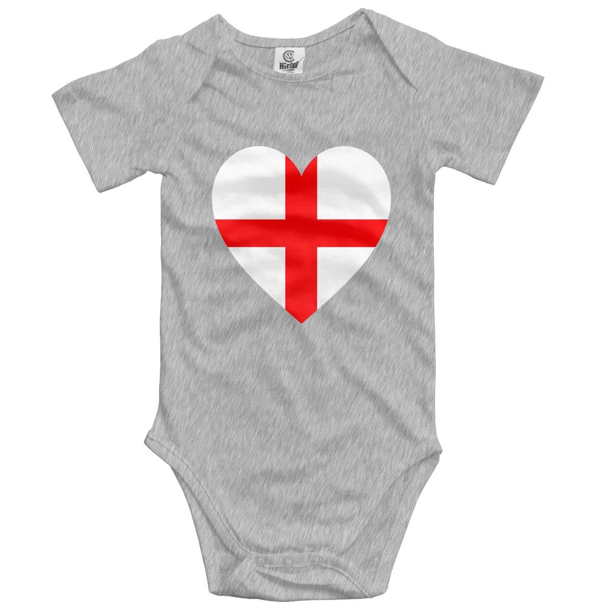 Baby Short-Sleeve Onesies Love Bodysuit Baby Outfits
