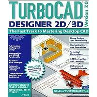 Turbo CAD Designer 2D/3D Version 7.0(CD)