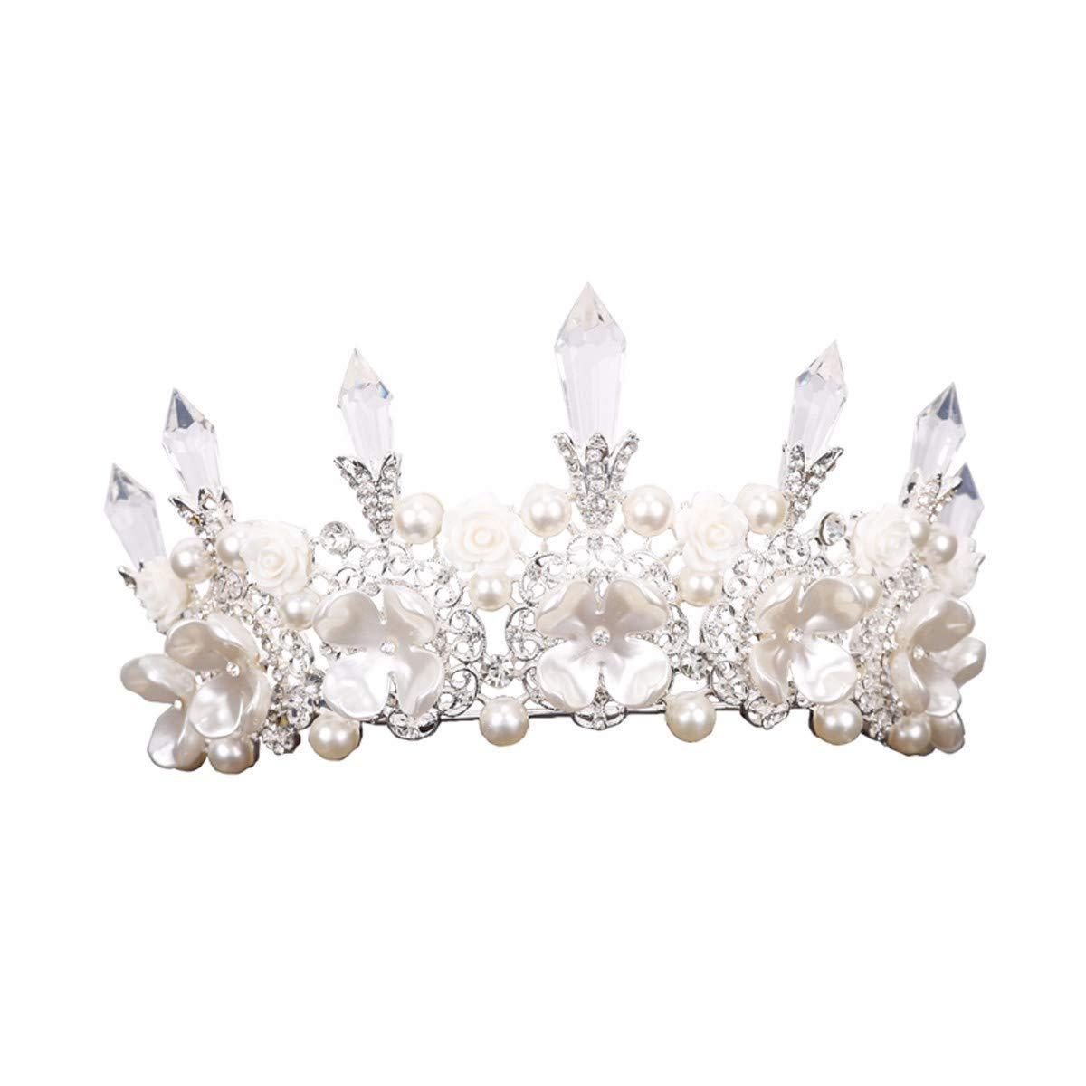 Wedding Crown, Beautiful headdress/Pearl Crown Ornaments Bridal Crown Wedding Wedding Accessories Wedding Headwear Accessories