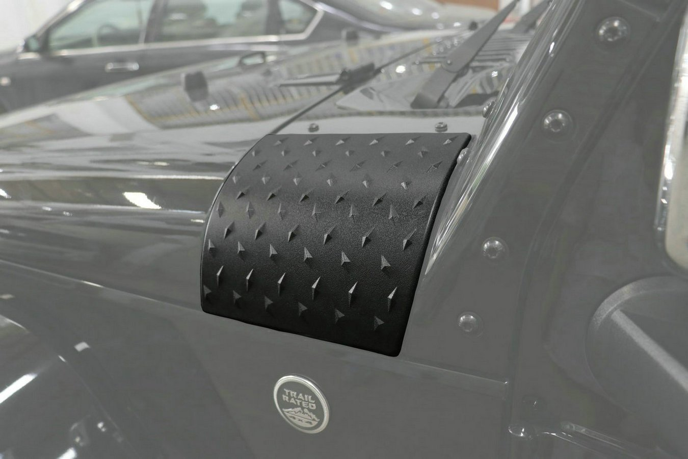 Danti Latest Black Cowl Body Armor Outer Cowling Cover For Jeep Wrangler Rubicon Sahara Jk Unlimited 2007 2008 2009 2010 2011 2012 2013 2014 2015 2016 2017 2018
