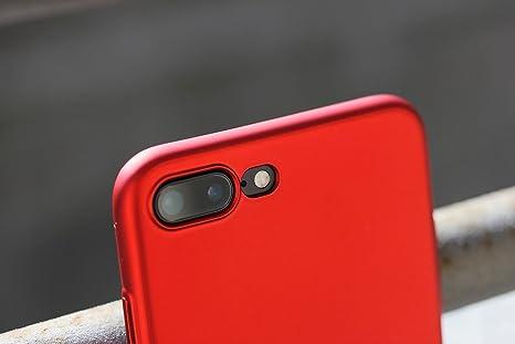 UltraSoft - Custodia rigida sottile blu opaco per iPhone 7 Plus (5.5