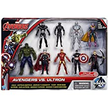 Marvel Avengers Age of Ultron Avengers vs Ultron Action Figure 9-Pack