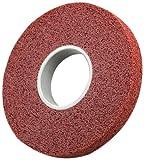 Scotch-Brite Metal Finishing Wheel, Aluminum Oxide, 4500 rpm, 8'' Diameter, 3'' Arbor, 4A Medium Grit  (Pack of 2)