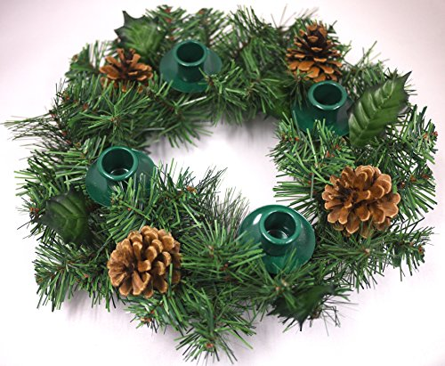 Vermont Christmas Company Holdiday Traditions Advent Wreath ()