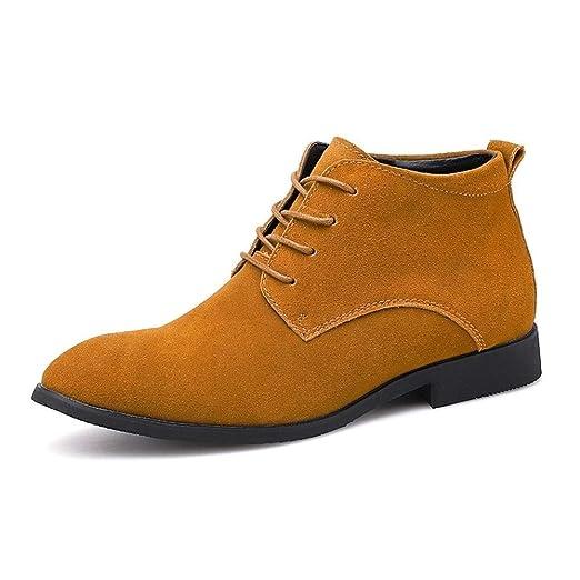 Tufanyu Botines de Moda para Hombres Zapatos Casuales Estilo de ...
