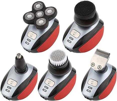 CYX-BEAUTY 5 Head 4D Electric Men Calvo Shaver Maquinilla de ...