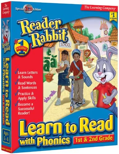 B00006OAQW Reader Rabbit Learn To Read With Phonics: 1st - 2nd Grade 61NQZ64VDVL