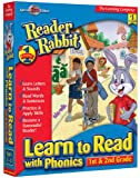 Software : Reader Rabbit Learn To Read With Phonics: 1st - 2nd Grade