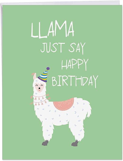 Amazon.com: PJBD13 Jumbo NobleWorks - Tarjeta de cumpleaños ...