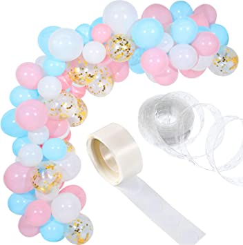 Amazon.com: Tatuo - Juego de 112 guirnaldas de globos para ...