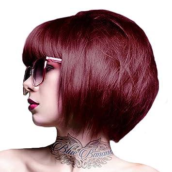 crazy colour bordeaux semi permanent hair dye by crazy colour - Semi Permanent Coloration