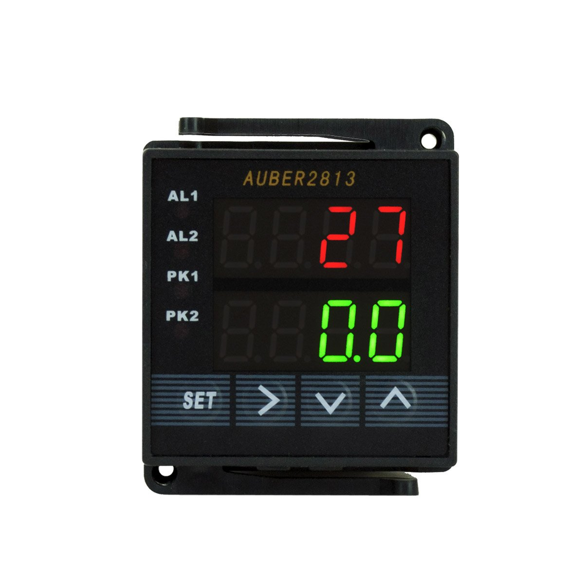 Auber Instruments Dual Channel Digital Automobile Multimeter, 1/16 DIN by Auber Instruments