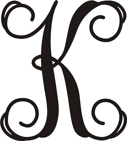 ajd designs single letter k monogram 20 inches wedding gift metal monogram letters last name monogram