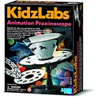Animation Praxinoscope Science Kit Zoetrope Homeschool Optical Experiments Fair Ages 8+ Includes Detailed Instruction Sheet