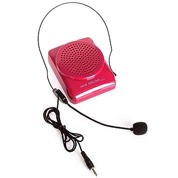 Aker N74 la cintura portátil amplificador de voz para altavoz de micrófono amplificador de voz 15