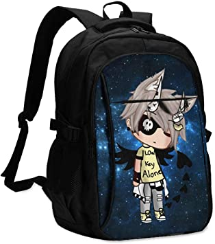 Gacha Life Backpack Set For Boys//Girls//Teen Gift Travel Daypack