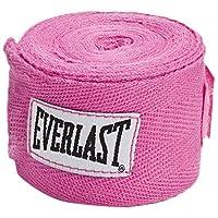 Everlast Hand Wraps (120 pulgadas, rosa)