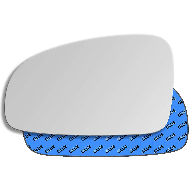 Hightecpl 305LS Left Passenger Side Convex Door Wing Mirror Glass