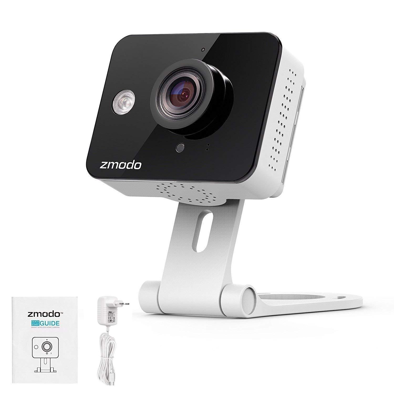 Zmodo 720P HD WiFi Vigilancia, inalámbrica Cámara IP para Interiores con Visión Nocturna/de 2 Vías de Audio/Movimiento Aviso/Cloud: Amazon.es: Bricolaje y ...