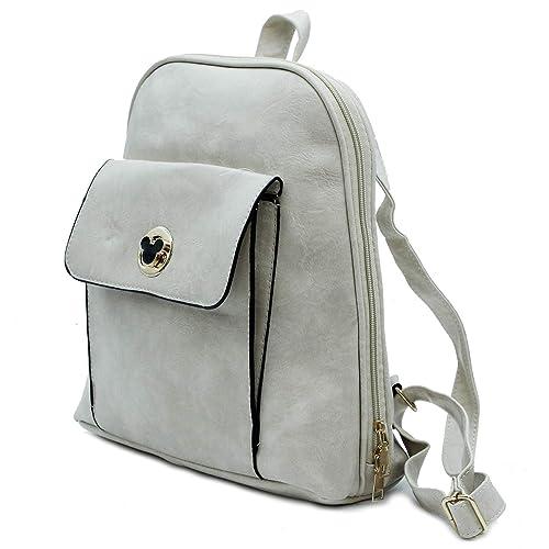 MISEMIYA - Bolsos mochila Bolsos para mujer mochila mujer mochilas de mujer SR-8782 - Beige: Amazon.es: Zapatos y complementos
