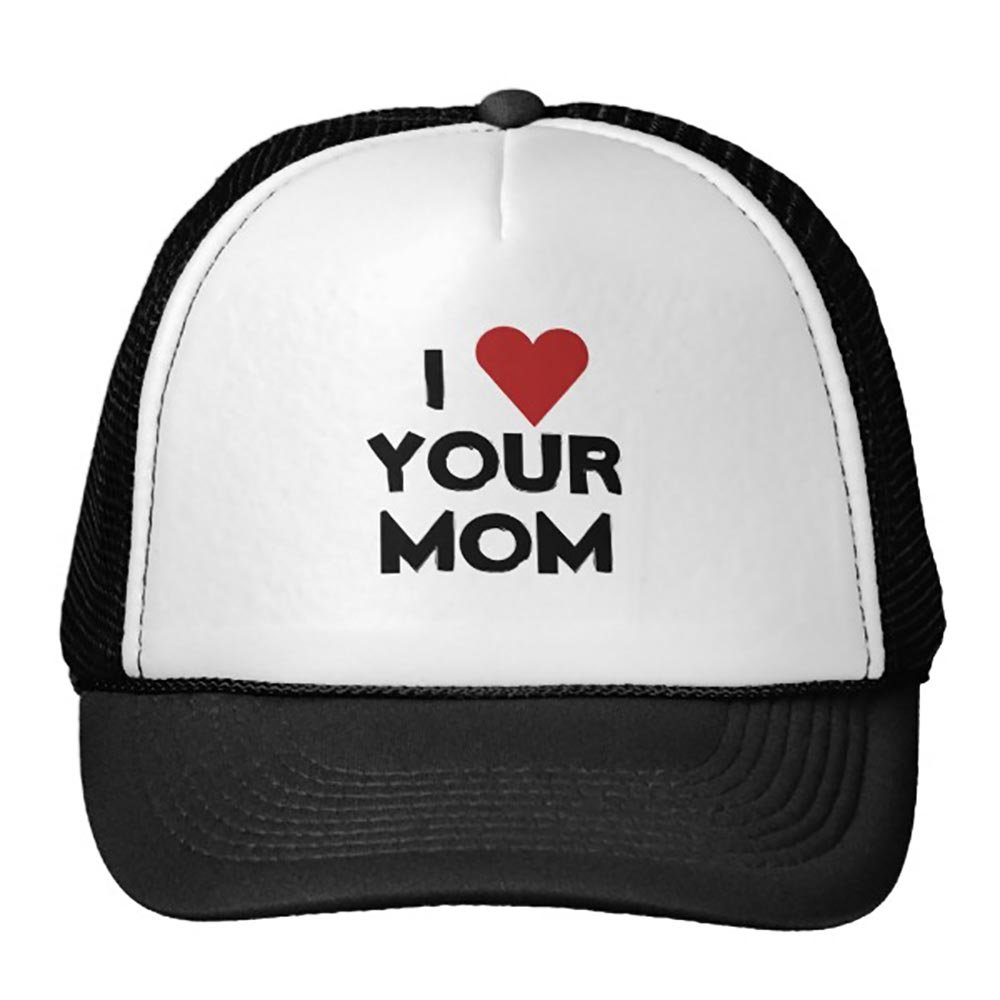 Smity 106 I Love Your Mom Trucker Hat