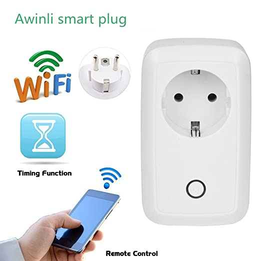 26 opinioni per WiFi Smart Socket Timer Presa Casa Outlet Intelligente Switch Wireless Timer