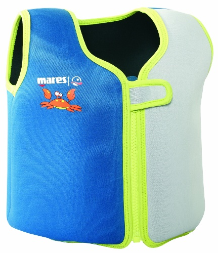 Mares Kinder Schwimmweste Summer Single, Lime, XS, 412589LMXS