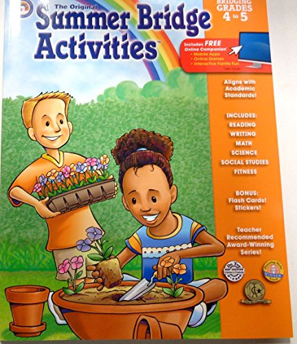 Summer Bridge Activities®: Bridging Grades Fourth to Fifth