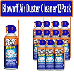 Max Professional Blowoff Air Duster Cleaner 12 Pack